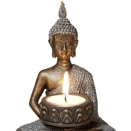 Decorating with Thai Buddhas Candle Holder
