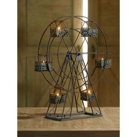 Decorating with the Ferris Wheel Candle Holder