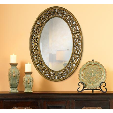 Imagine this beautiful mirror on your wall