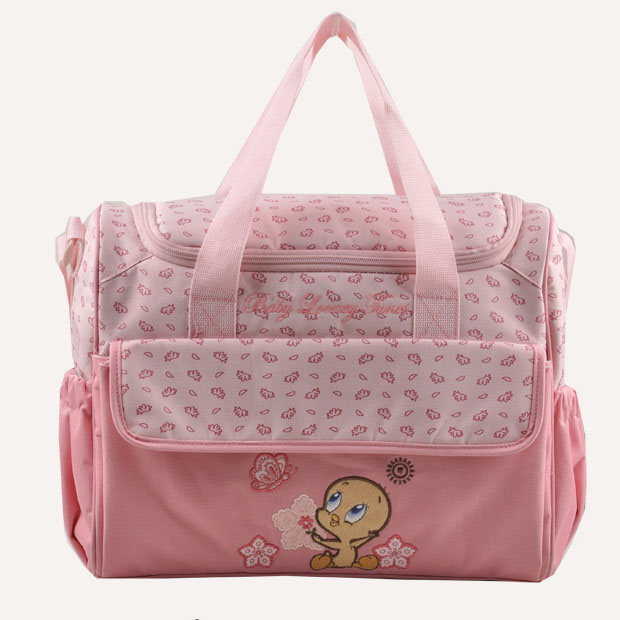 Large Pink Diaper Bag