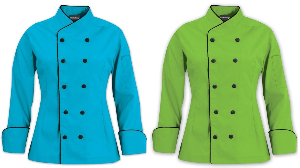 From the Shopdrops Gallery of Women's Chef Coats