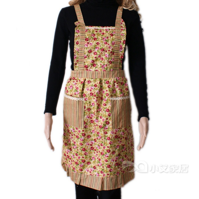 Vintage-Inspired Aprons- Yellow/Mustard