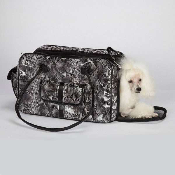 Imagine your puppy in this carrier