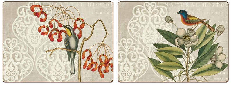 From the Shopdrops Gallery of Hard-backed Placemats by CALA. Made in