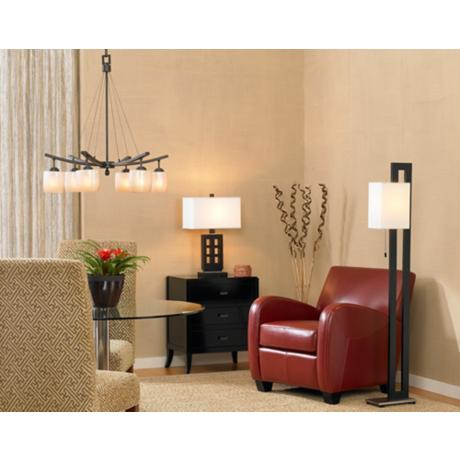 Table Lamp In dcene