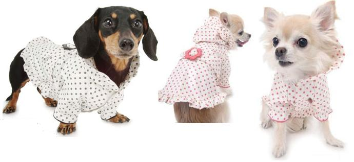 Puppy Angel - the ultimate in quality raincoats for dogs