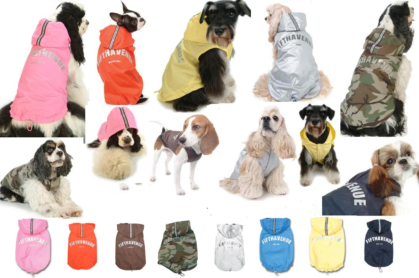Puppy Angel - the ultimate in waterproof raincoats for dogs