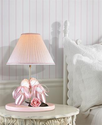 In Scene look of the Ballerina Shoes Table Lamp