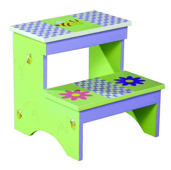 Garden Step Stool/Storage