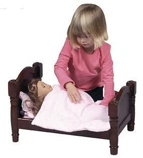 Doll Bed for Dolls up to 21 inches