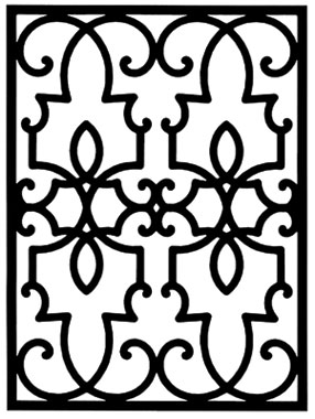 Wrought Iron Wall Plaques