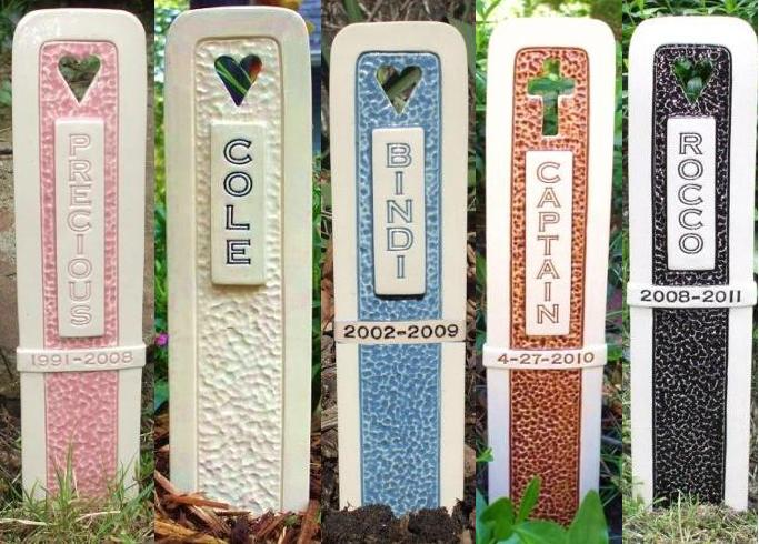 Color Options for Grave Markers